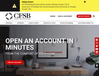 cfsbky.com screenshot