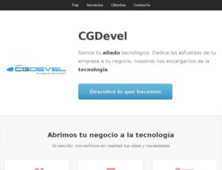 cgdevel.com screenshot
