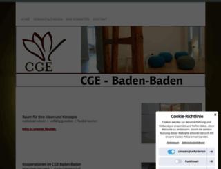 cge-baden-baden.de screenshot