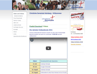 cgheimberg.com screenshot