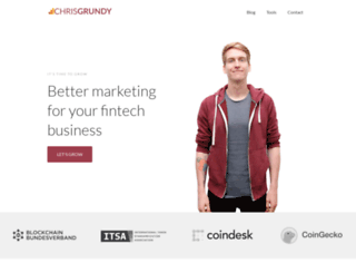 cgrundy.com screenshot