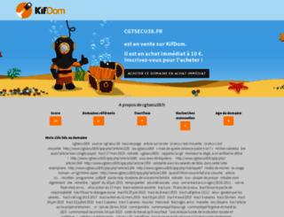 cgtsecu38.fr screenshot