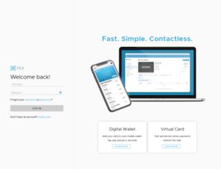 ch.pexcard.com screenshot