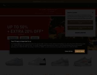 ch.puma.com screenshot