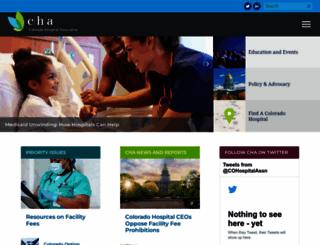 cha.com screenshot