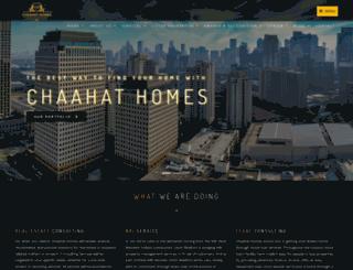 chaahathomes.com screenshot