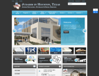 chabadhouston.com screenshot