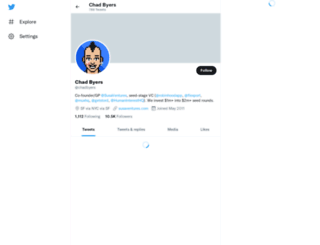 chadbyers.com screenshot