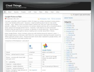 chadnorwood.com screenshot