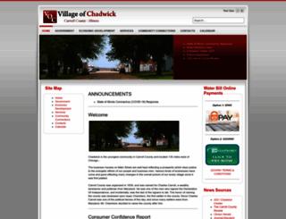 chadwickil.com screenshot
