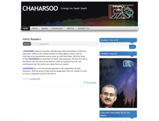 chaharsu.wordpress.com screenshot