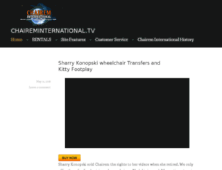 chaireminternational.com screenshot