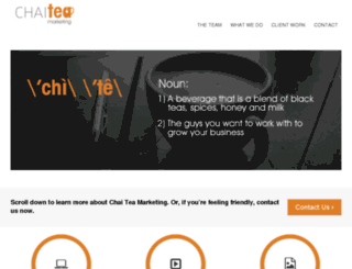 chaiteamarketing.com screenshot