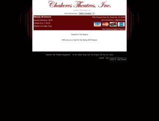 chakerestheatres.com screenshot