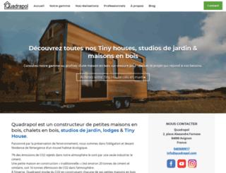 chalet-quadrapol.fr screenshot