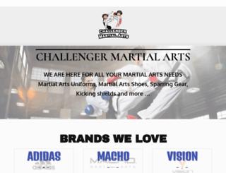 challengermartialarts.com screenshot