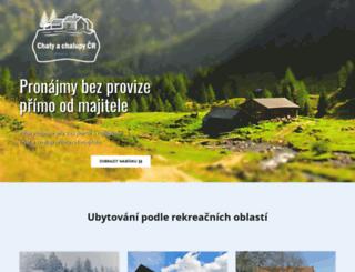 chalupyachaty.cz screenshot