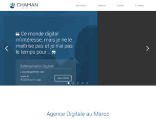 chamanmedia.com screenshot