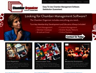 chamberorganizer.com screenshot