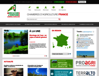 chambres-agriculture.fr screenshot