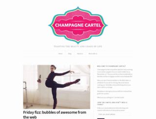 champagnecartel.wordpress.com screenshot