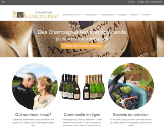 champagneprat.com screenshot