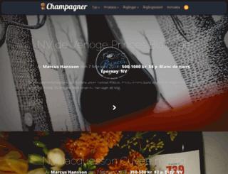 champagner.nu screenshot