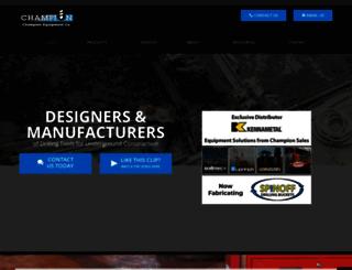 champion-equipment.com screenshot