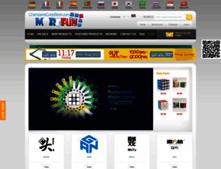 championscubestore.com screenshot