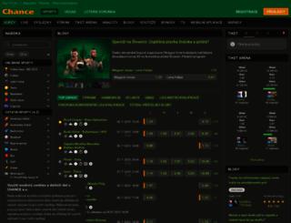 chance.cz screenshot