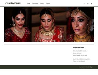 chandnisingh.com screenshot