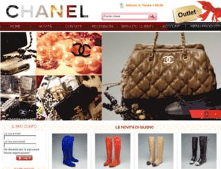 chaneloutlet.it screenshot