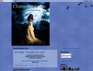 changefulstorm.blogspot.com screenshot