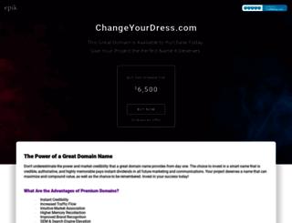 changeyourdress.com screenshot