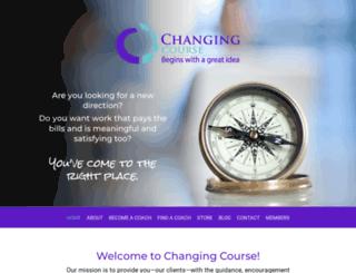 changingcourse.com screenshot