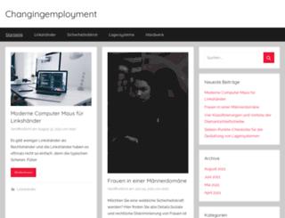 changingemployment.eu screenshot