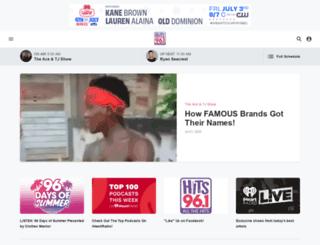 channel961.com screenshot