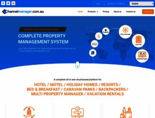 channelmanager.com.au screenshot