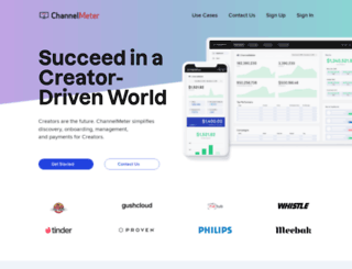 channelmeter.com screenshot