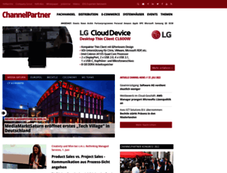channelpartner.de screenshot