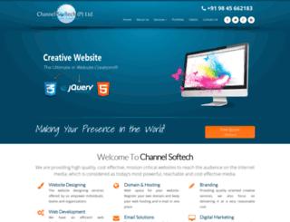 channelwebtech.com screenshot