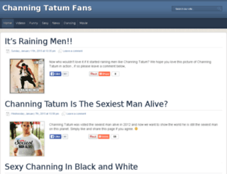channingtatumfans.com screenshot