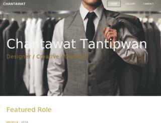 chantawat.weebly.com screenshot