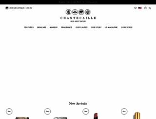 chantecaille.com screenshot