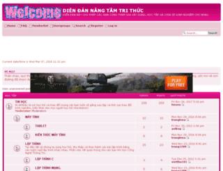 chantroitinhoc.niceboard.org screenshot