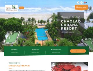 chaolaocabana.com screenshot