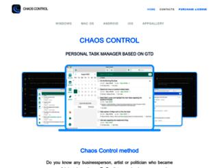 chaos-control.mobi screenshot