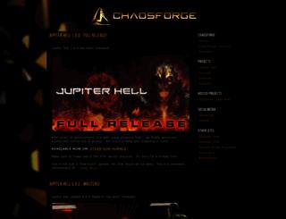 chaosforge.org screenshot