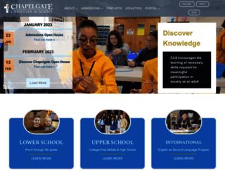 chapelgateacademy.org screenshot