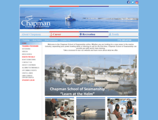 chapman.org screenshot